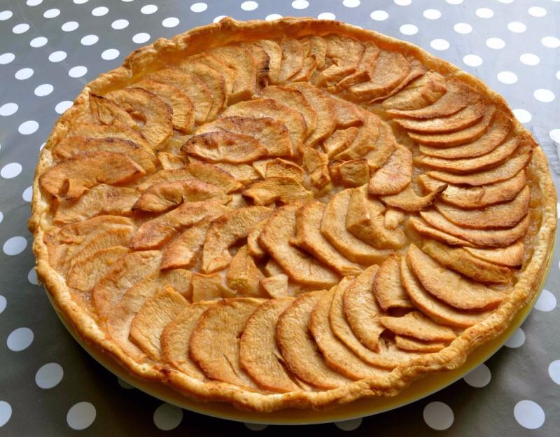 Tarte-aux-pommes
