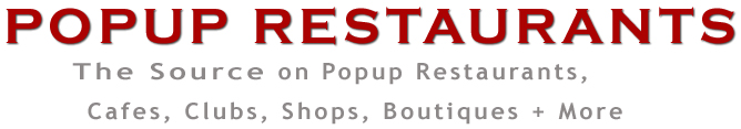 Pop Up Restaurants