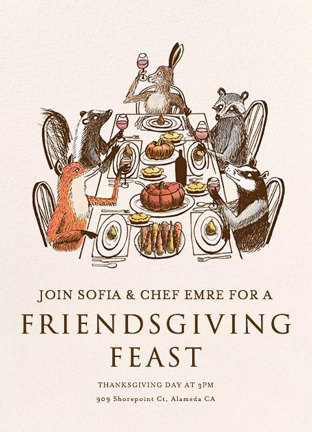 thanksgiving feast pop up restaurants